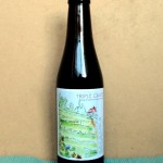 "beer label  BIO ""TRIPLE CANTO"""