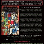 ART'tistik - charity art auction - Cannes (May 2012)