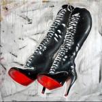 ''BOOTS'' 100x100cm