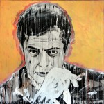 MARCELLO, acrylics on canvas, 100x100 cm (2014)