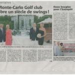 Monaco Matin - Aug 2011